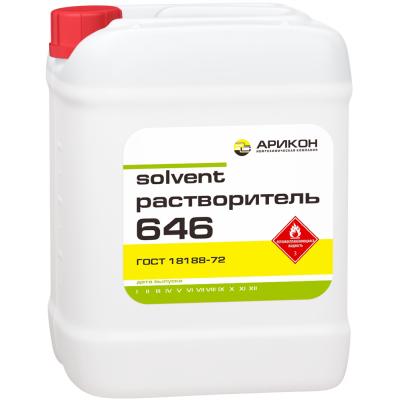Растворитель 646 ГОСТ 18188-72